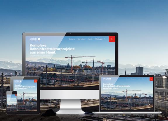 SRS SPITZKE RAIL SWISS AG mit eigenem Web-Auftritt