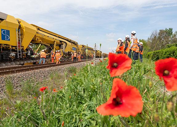 SPITZKE macht Bahnbau live erlebbar
